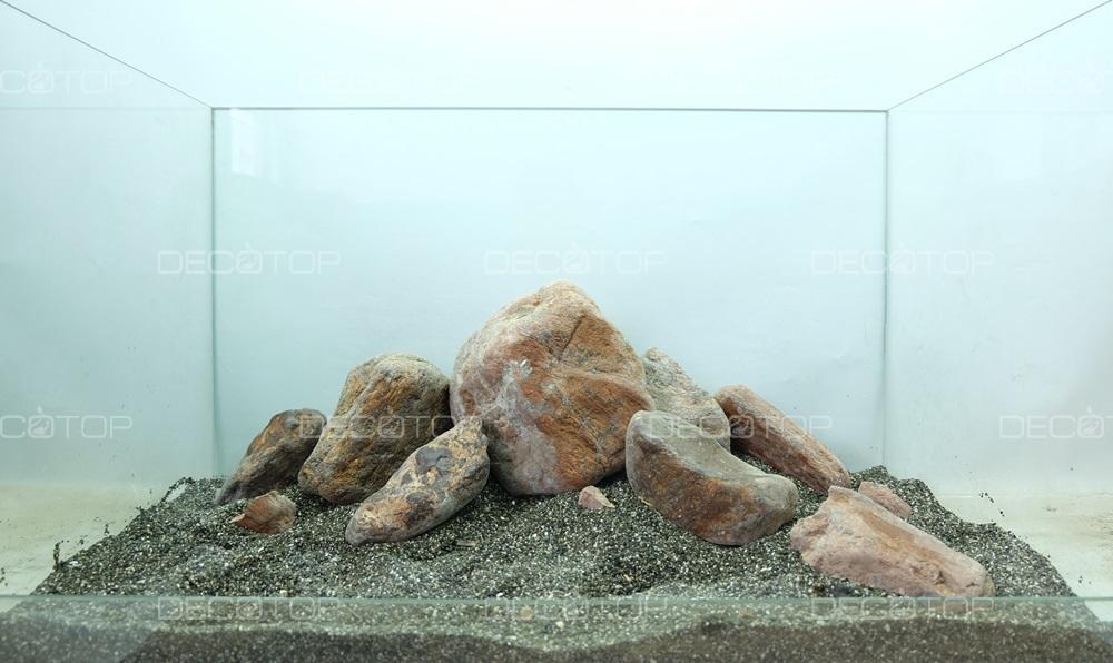 DECOTOP Ojos 37 - Композиция для аквариумов от 20 литров, 13 кг / 9 л
