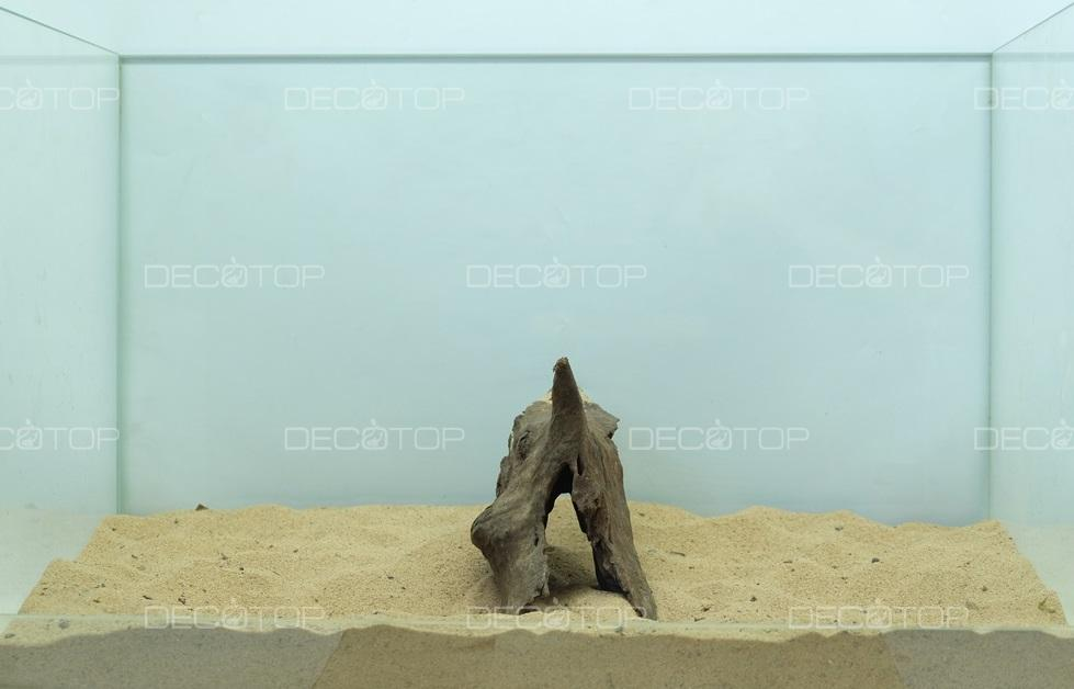 DECOTOP Borneo 516 - Натуральная коряга для аквариумов от 20 литров, 18х10х7 см