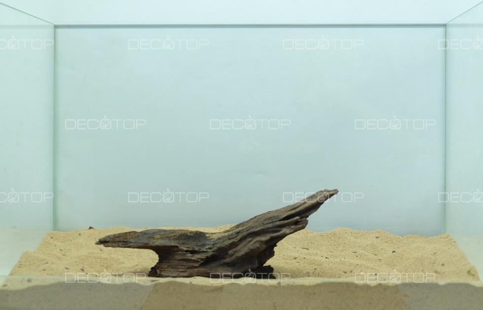 DECOTOP Borneo 531 - Натуральная коряга для аквариумов от 20 литров, 22х6х4 см