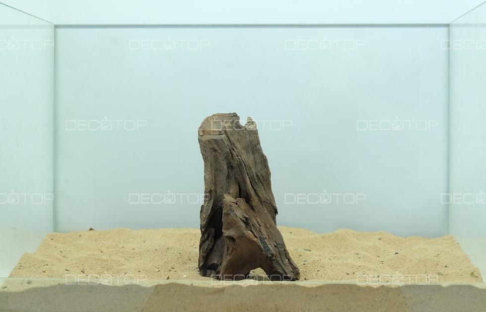DECOTOP Borneo 540 - Натуральная коряга для аквариумов от 20 литров, 17х9х5 см