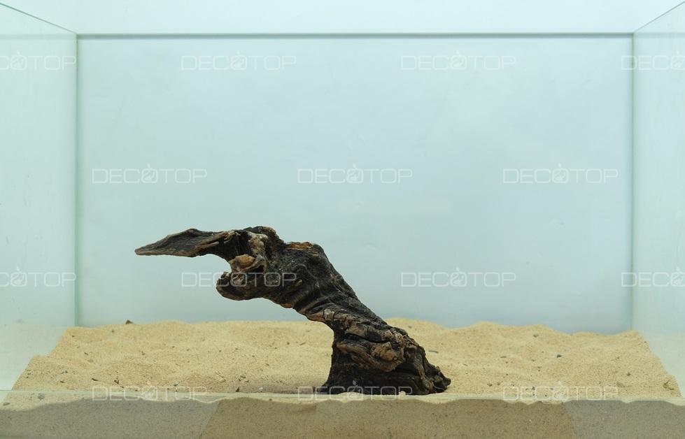 DECOTOP Borneo 542 - Натуральная коряга для аквариумов от 20 литров, 21х7х7 см